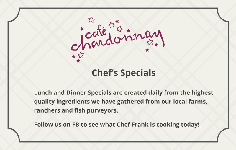 Daily Chefs Specials