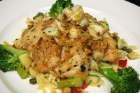 Crab Crusted Tilefish