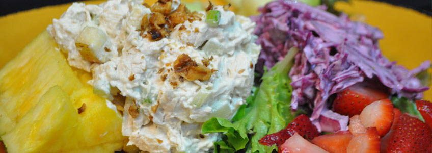 lunch chicken salad